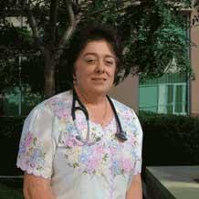 Firebaugh city councilwoman and family physician Marcia Sablan