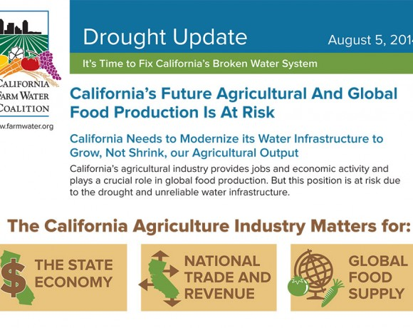August 5, 2014 Drought Fact Sheet