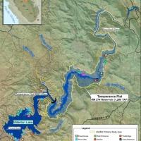 Temperance Flat Dam and Reservoir