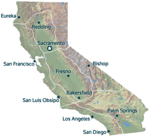 California Map With Cities California Farm Water Coalition - California map cities